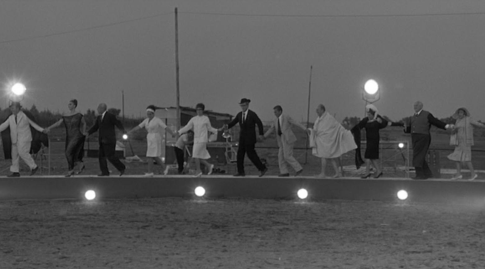 8 1 2 federico fellini Federico fellini never stuck to the facts a masterpiece by cinema's ultimate dreamer (centre), in 8 1/2 (1963.