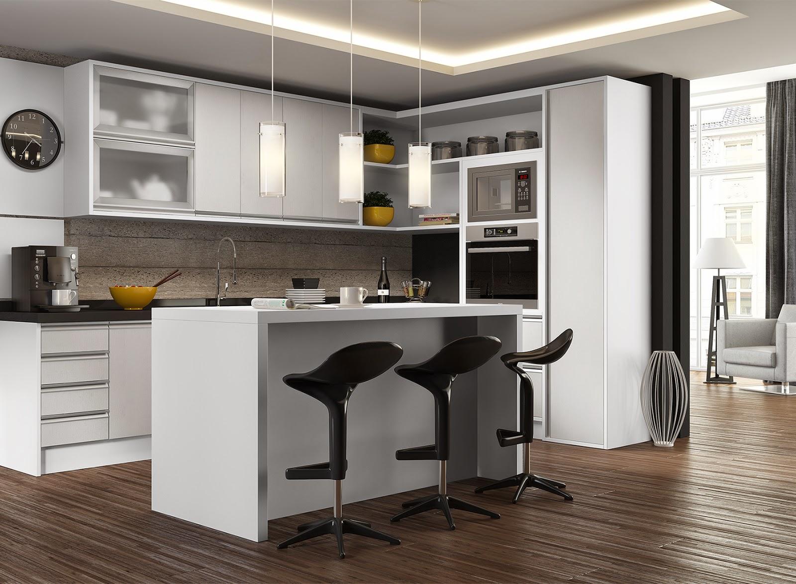 #B07F1B Cozinha planejada. Légno Móveis Planejados 1600x1173 px Projeto Cozinha Planejada Apartamento #2645 imagens