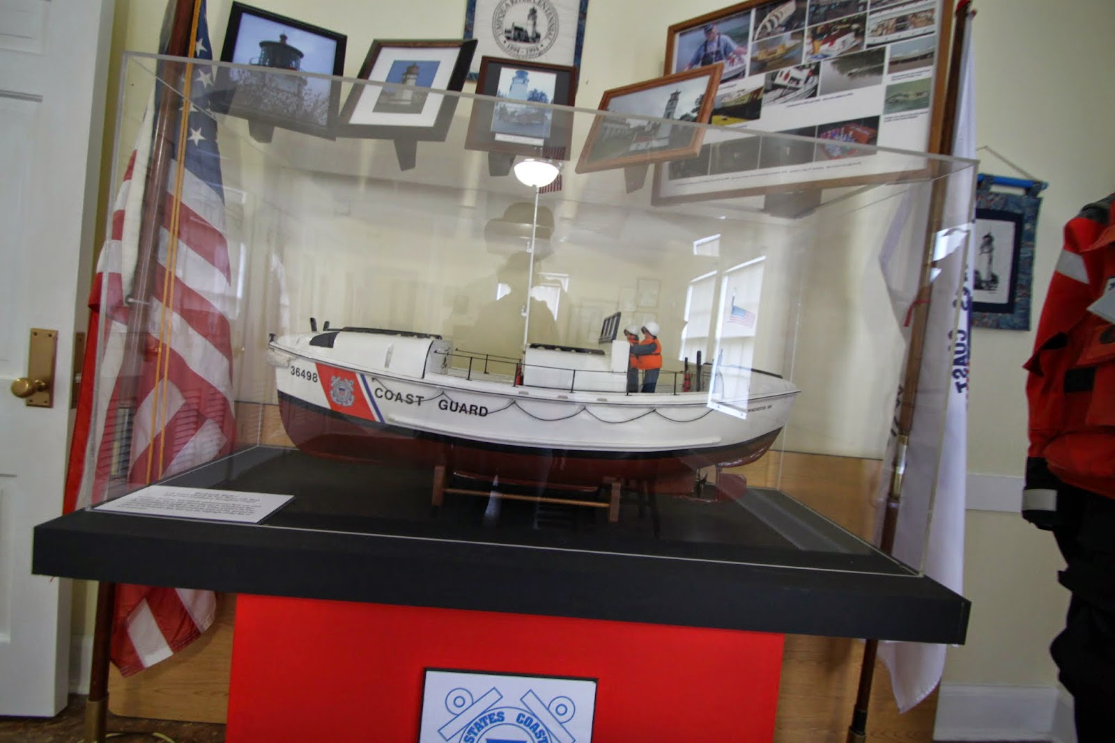 Umpqua River Lighthouse museum display
