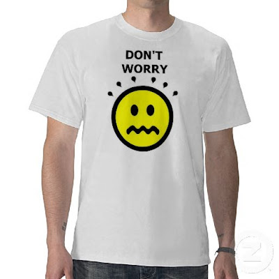 Don't Worry... Be Happy - t shirt