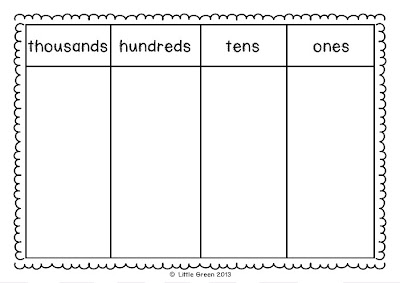100 Counting Mat