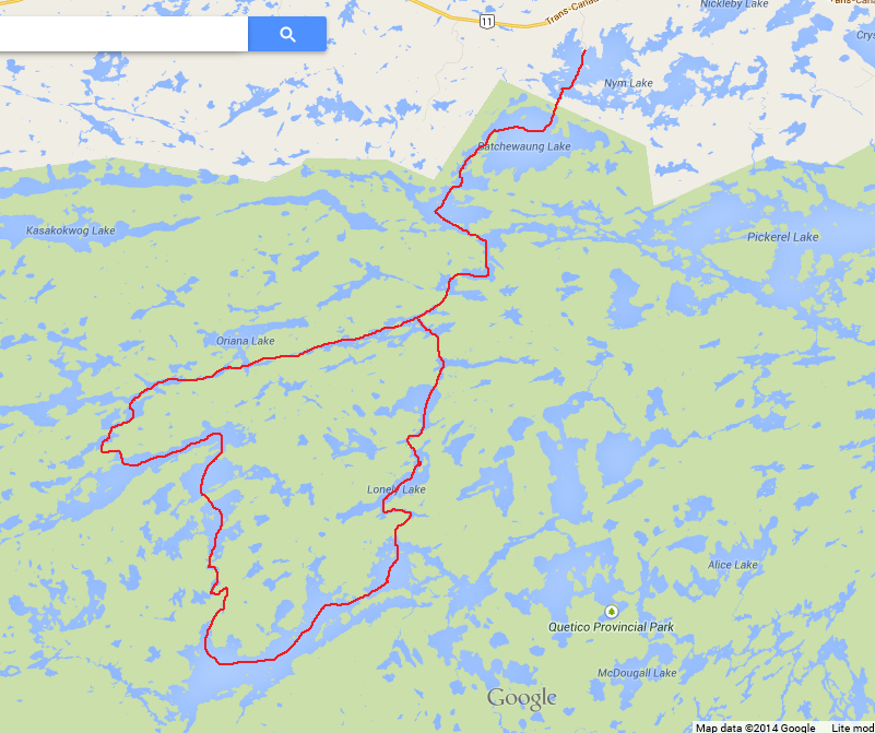 BACKCOUNTRY BALKWILLS: Quetico Provincial Park: September 12th ... on