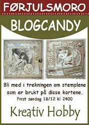 Blogcandy hos Kreativ Hobby