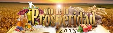 2013 Año de la Prosperidad