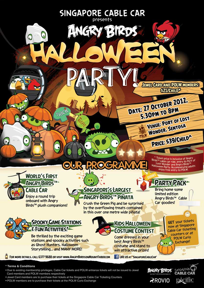 Cuisine Paradise | Eat, Shop And Travel: Angry Birds Halloween ...