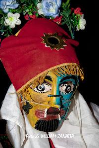 Maschera della danza Huanca