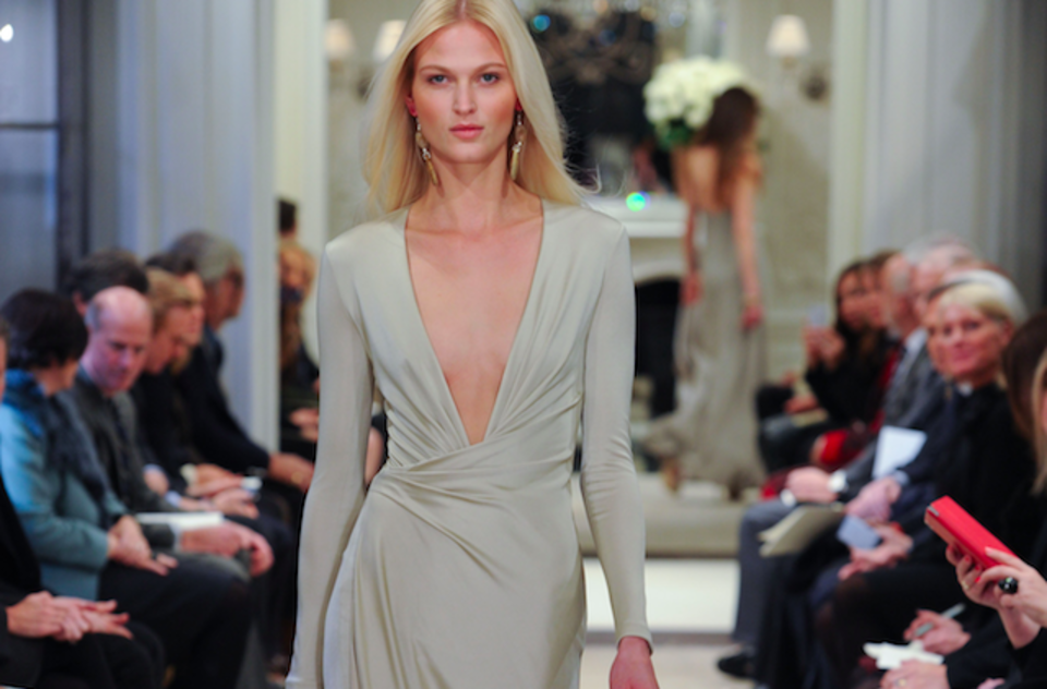 Five Fashion Things To Love About Ralph Lauren's Cream And Gray Pre-Fall 2014 Collection
