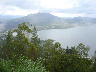 Kintamani Mountain and Lake Batur