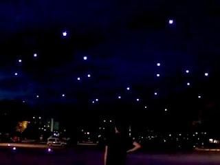 49 НЛО устроили шоу в небе над Австрией