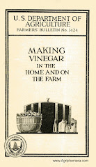From 1924...<br>Making Vinegar in the Home and on the Farm