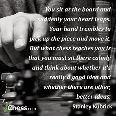 CHESS IS MAKING HEALTHY CHOICES.