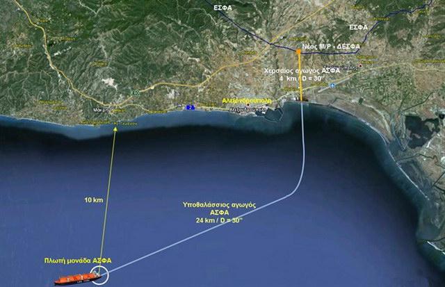 ΔΕΠΑ και Gastrade δίνουν τα χέρια για το LNG Terminal της Αλεξανδρούπολης