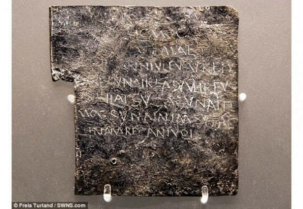 Significance of Roman Curse Tablets recognised in Memory of the World Register