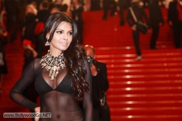 Sherlyn Chopra at Cannes Film Festival