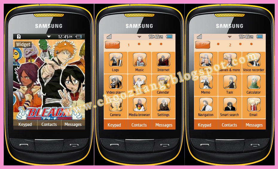 Bleach Themes and Pics