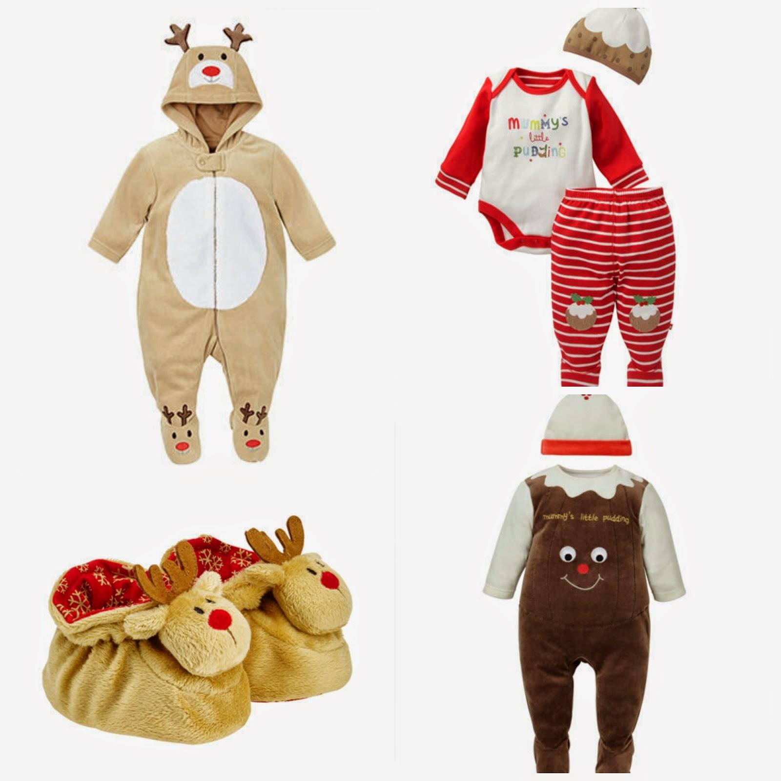 świąteczne ubranka dla niemowlaka