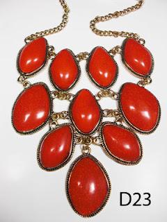 kalung aksesoris wanita d23