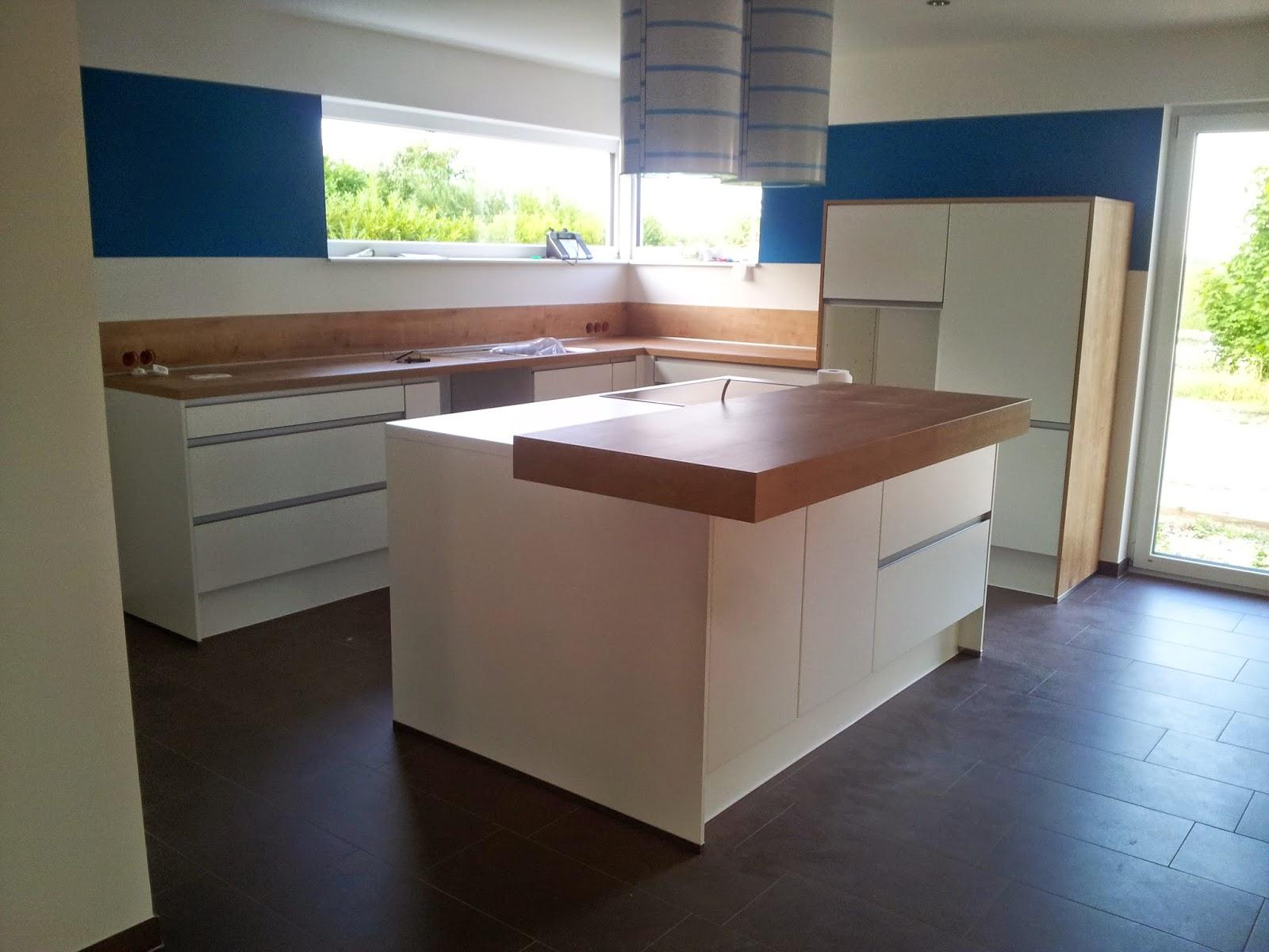 Side By Side Kühlschrank Küche : Homesweethome die küche kommt