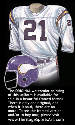 Minnesota Vikings 173 road uniform
