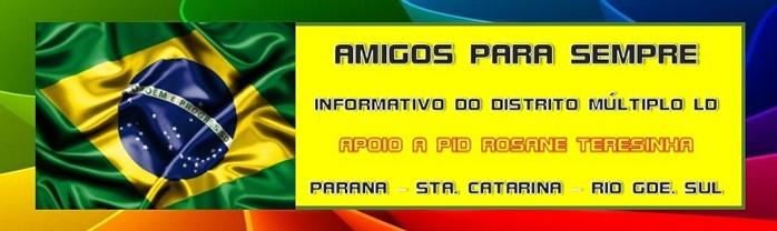 INFORMATIVO DMLD - AMIGOS PARA SEMPRE
