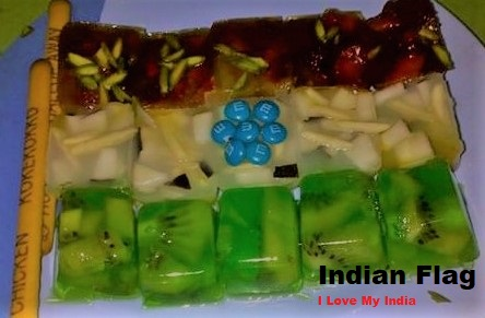Indian Flag Recipe