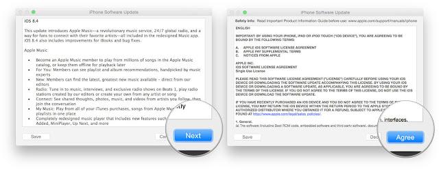 Cara Downgrade iOS 9 ke iOS 8.4