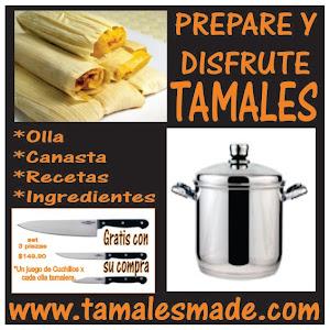 Prepare y disfute sus tamales