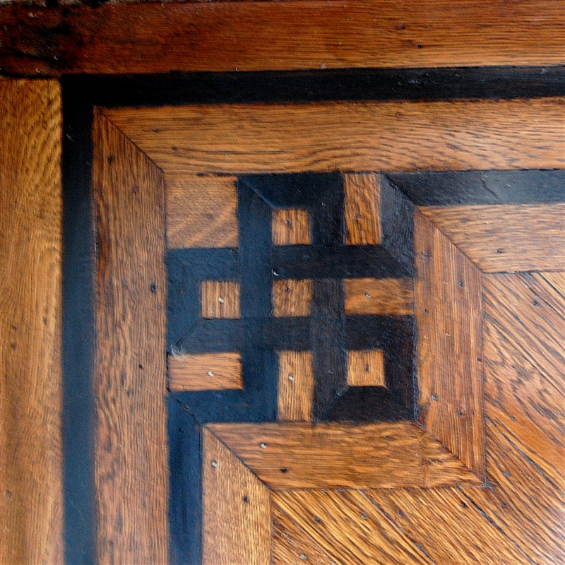 Capadia Designs Saturday Inspiration Inlaid Wood Pattern