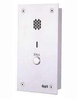 The KIT1VR BPT single Way Audio Entry Vandel Resistant Panel Only