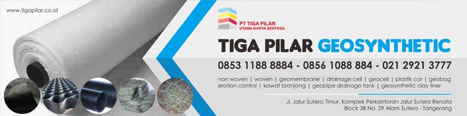 Pabrik Jual Geotextile Geomembrane Kawat Bronjong Drainage cell Sumatera