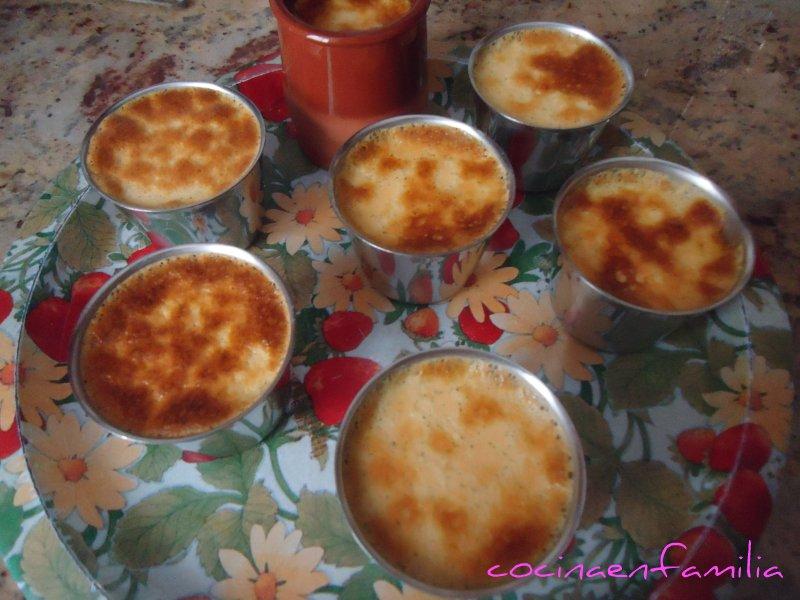 Cocina en familia flan de huevo y vainilla for Cocina en familia