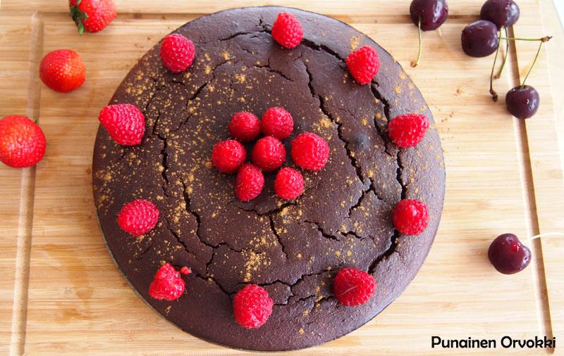 Reseptit: Gluteeniton suklaakakku
