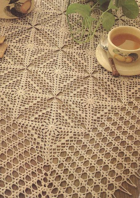 Mantel a Crochet