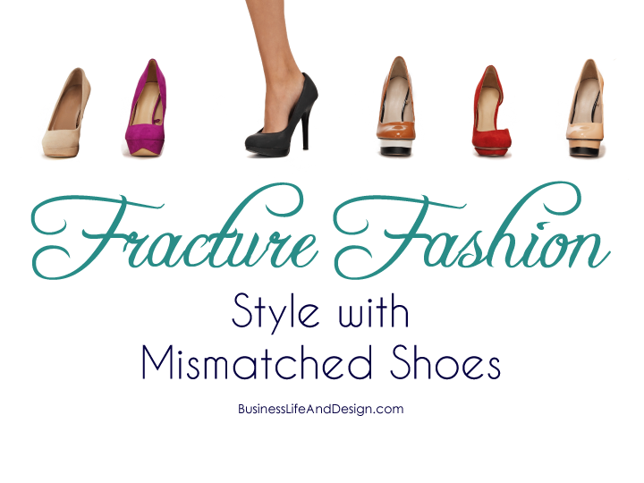 Fracture Fashion - Style with Mismatched Shoes