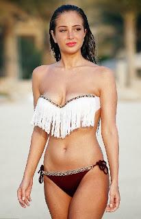 Tulisa Contostavlos Red Bikini Dubai