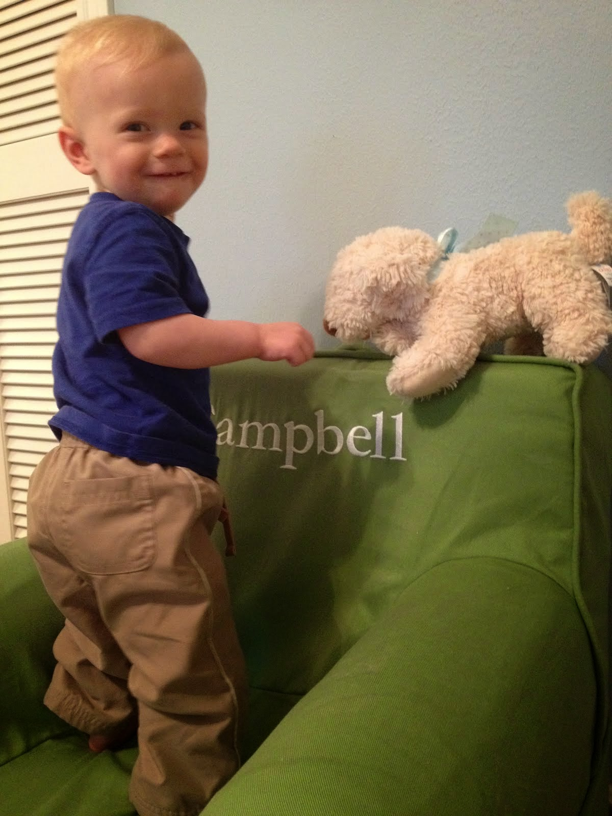 Campbell at 11 months