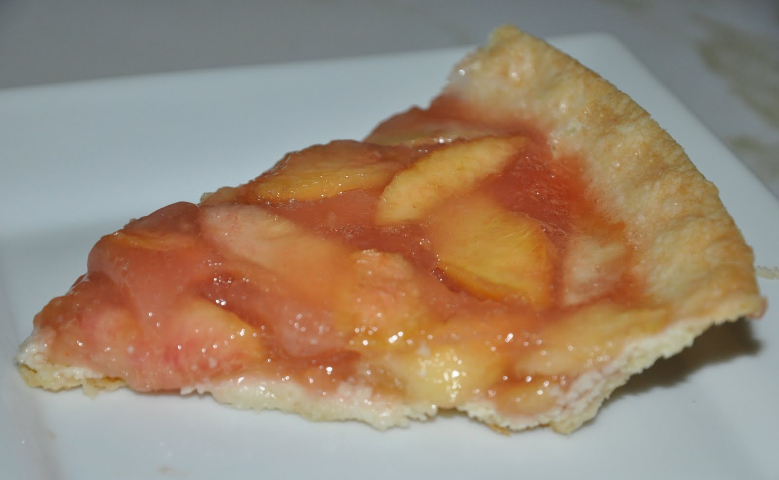 A Sophisticated Mommy: Peachy Peach Pie