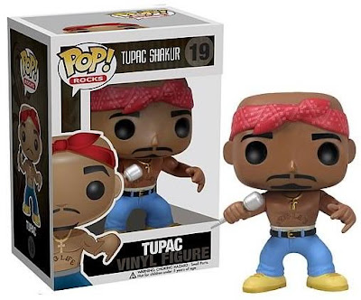 Tupac Shakur Pop! Rocks Vinyl Figure by Funko