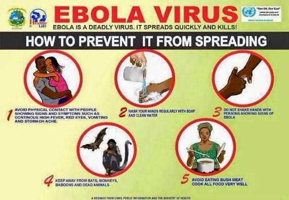 Cara Mengatasi Sebaran Virus Ebola, cara mengelak virus ebola