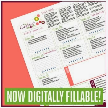 2014 Weekly Household Planner- FREE