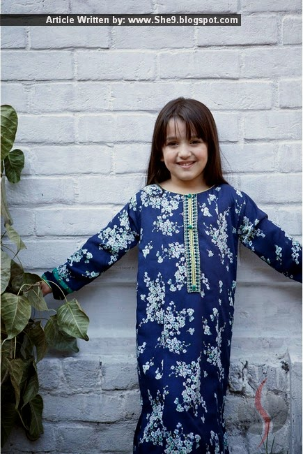 Kids Embroidered Dresses by Maria-B