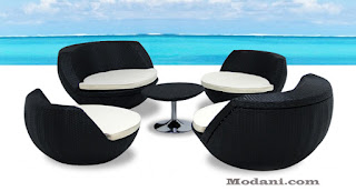 contemporary style furniture is another way of creating a modern feel