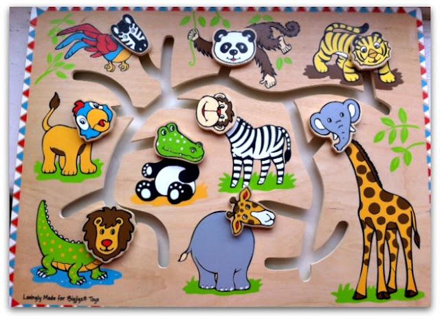 Bigjigs Safari Maze Puzzle