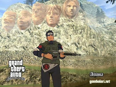 Игра Naruto GTA Shinobi World скачать 2011