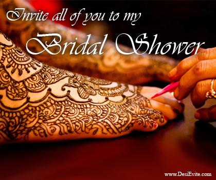 Mehndi Ceremony Cards : Send free online invitations and announcements:: part2: bihari