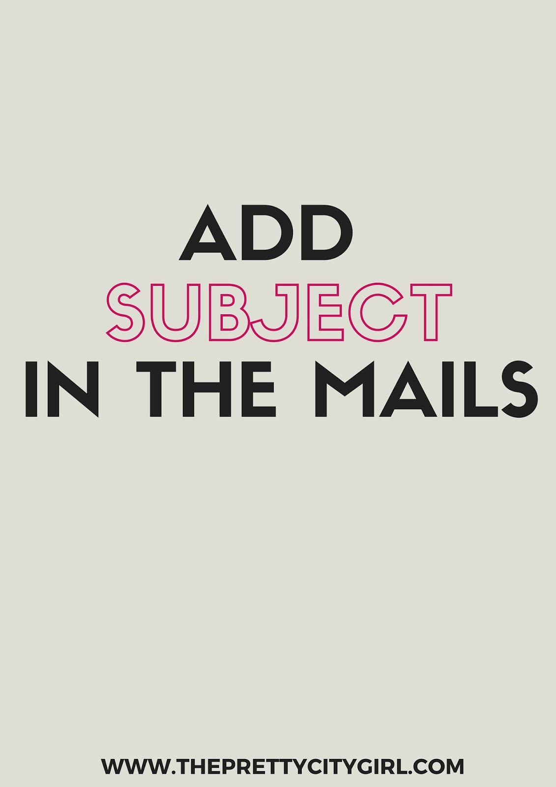how to add subject to mailto