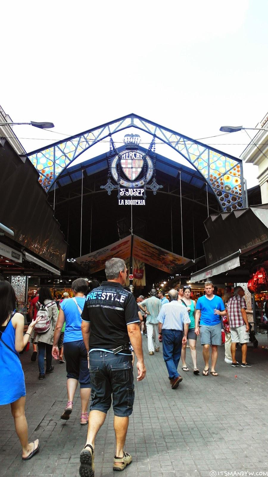 【西班牙】 熱情奔放的傳統市場 - La Boqueria