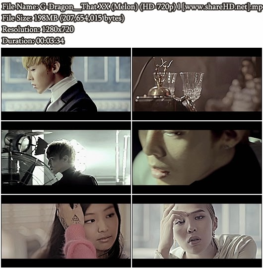 Download MV G-Dragon - That XX ( XX) (Melon HD 720p)