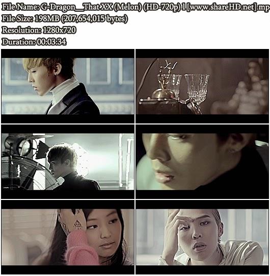 Download MV G-Dragon - That XX (그 XX) (Melon HD 720p)