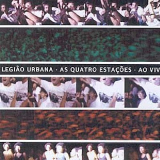 Legião Urbana As Quatro Estações ao Vivo Disco 1 CD Capa
